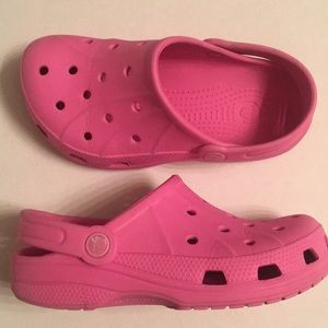 Crocs pink children's